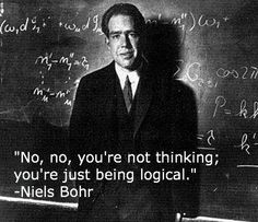 Bohr not thinking